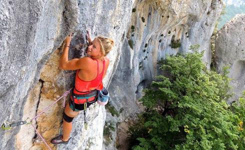 Manon Hily - escalade