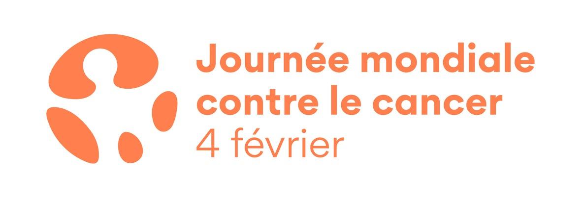 Logo Journée mondiale contre le cancer
